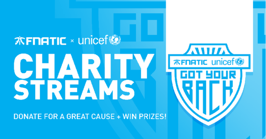 Fnatic x UNICEF partnership