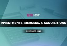 Investments, mergers, and acquisitions December 2019