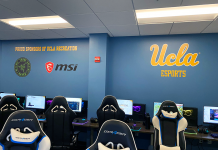 UCLA Esports Razer and MSI