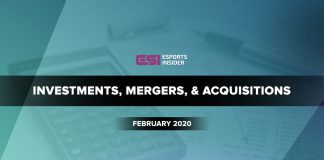 investments, mergers, and acquisitions February 2020