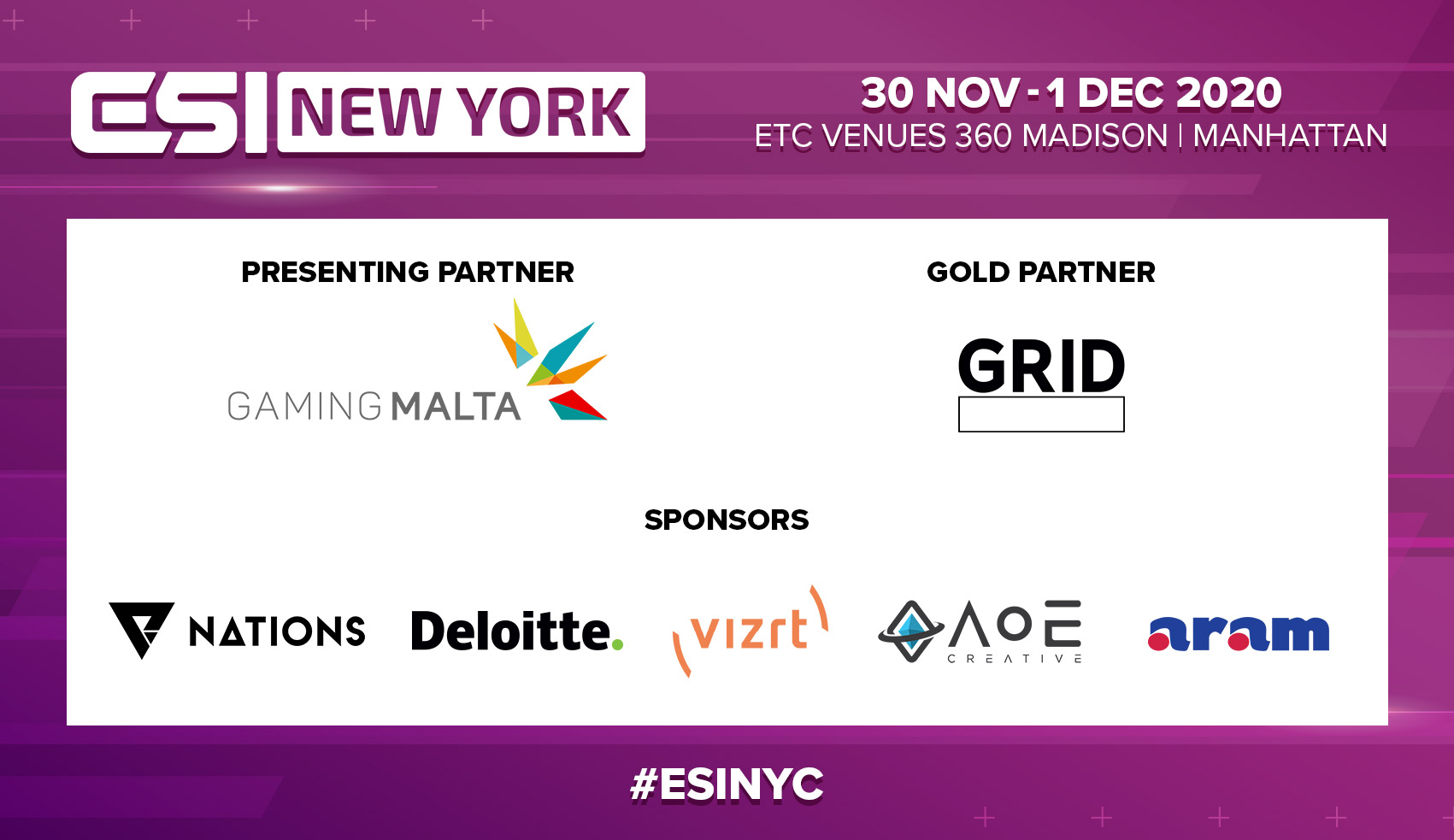 ESI New York Partners Rescheduled