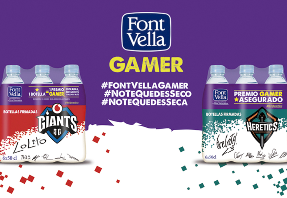 Font Vella Team Heretics Vodafone Giants