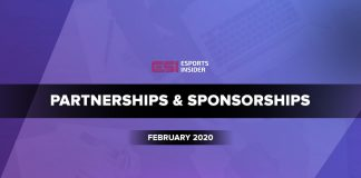 Partnerships and sponsorships February 2020