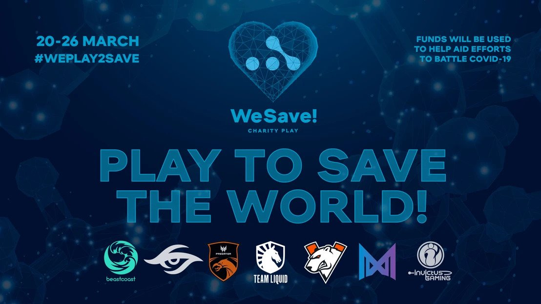 WePlay Esports WeSave Charity Play