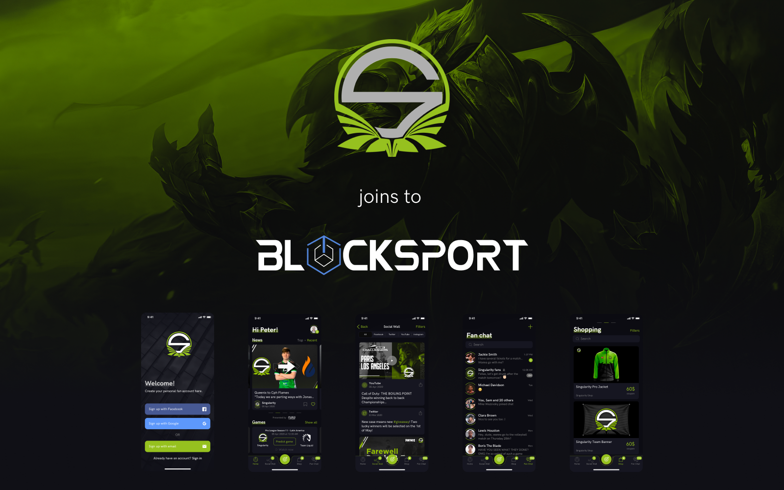 Blocksport Team Singularity
