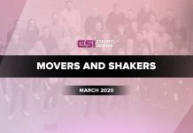 Movers and Shakers March 2020