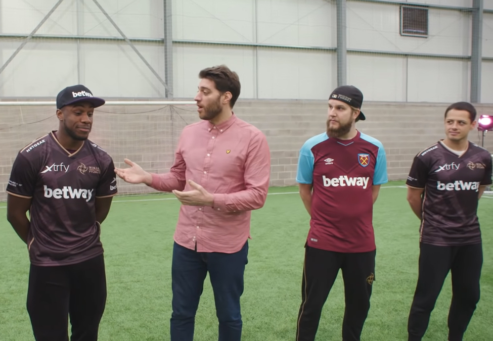 West Ham Ninjas in Pyjamas Betway