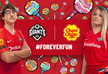 Vodafone Giants pick up Chupa Chups partnership