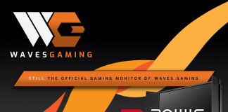 BenQ renews monitor partnership with Waves Gaming