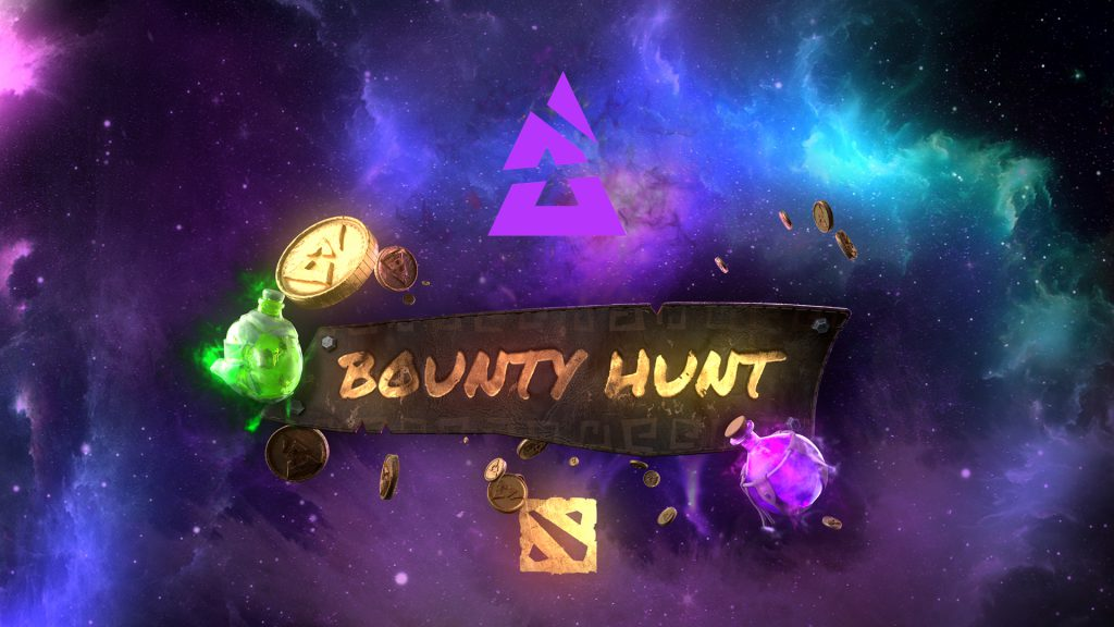 Blast Bounty Hunt key art with Dota 2 icon