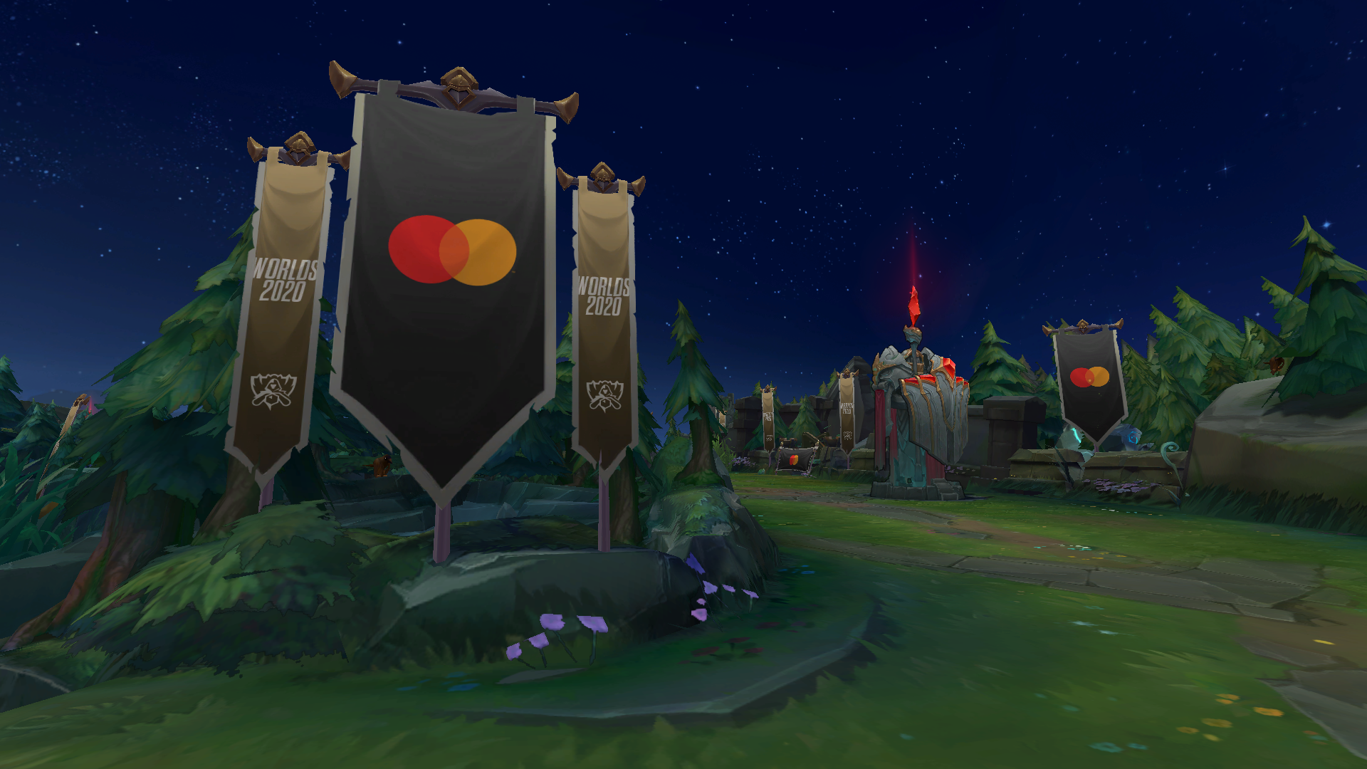 League of Legends Arena Banners