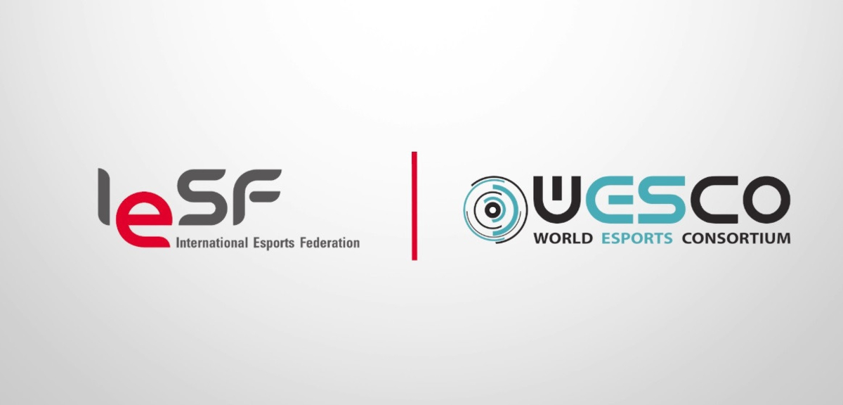 IESF x WESCO - International Esports Federation signs agreement with World Esports Consortium