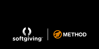 Method announce charitable partnership with Softgiving