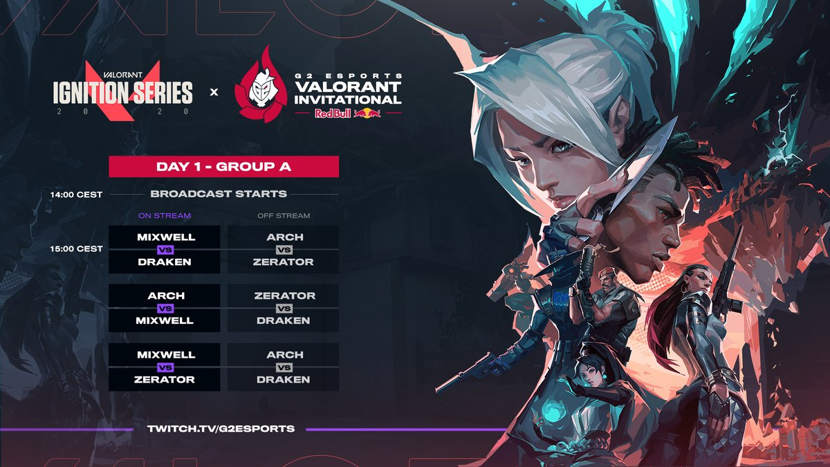 G2 Esports VALORANT Invitational Group A