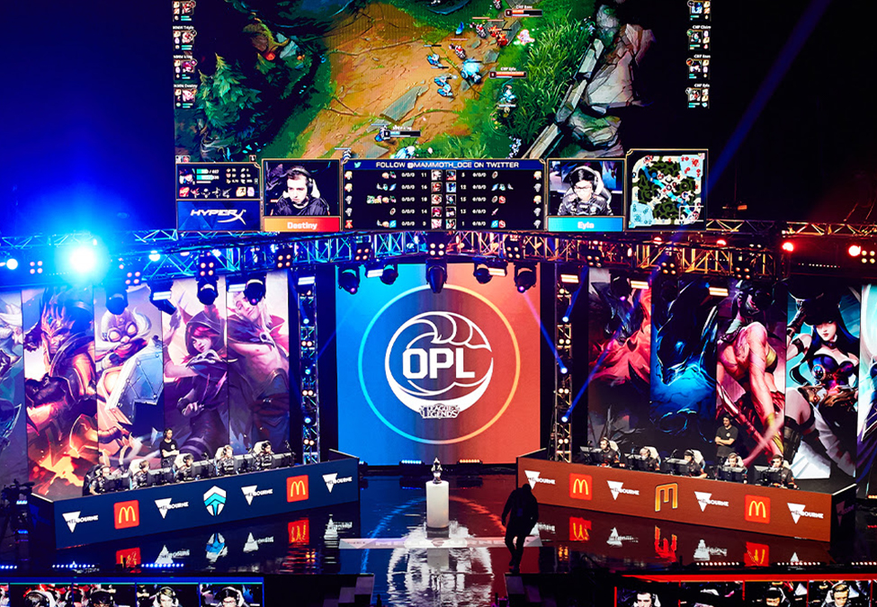 Oceanic Pro League EPOS Partnership