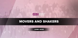 Esports Movers and Shakers June 2020