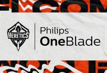 Team Heretics Philips OneBlade