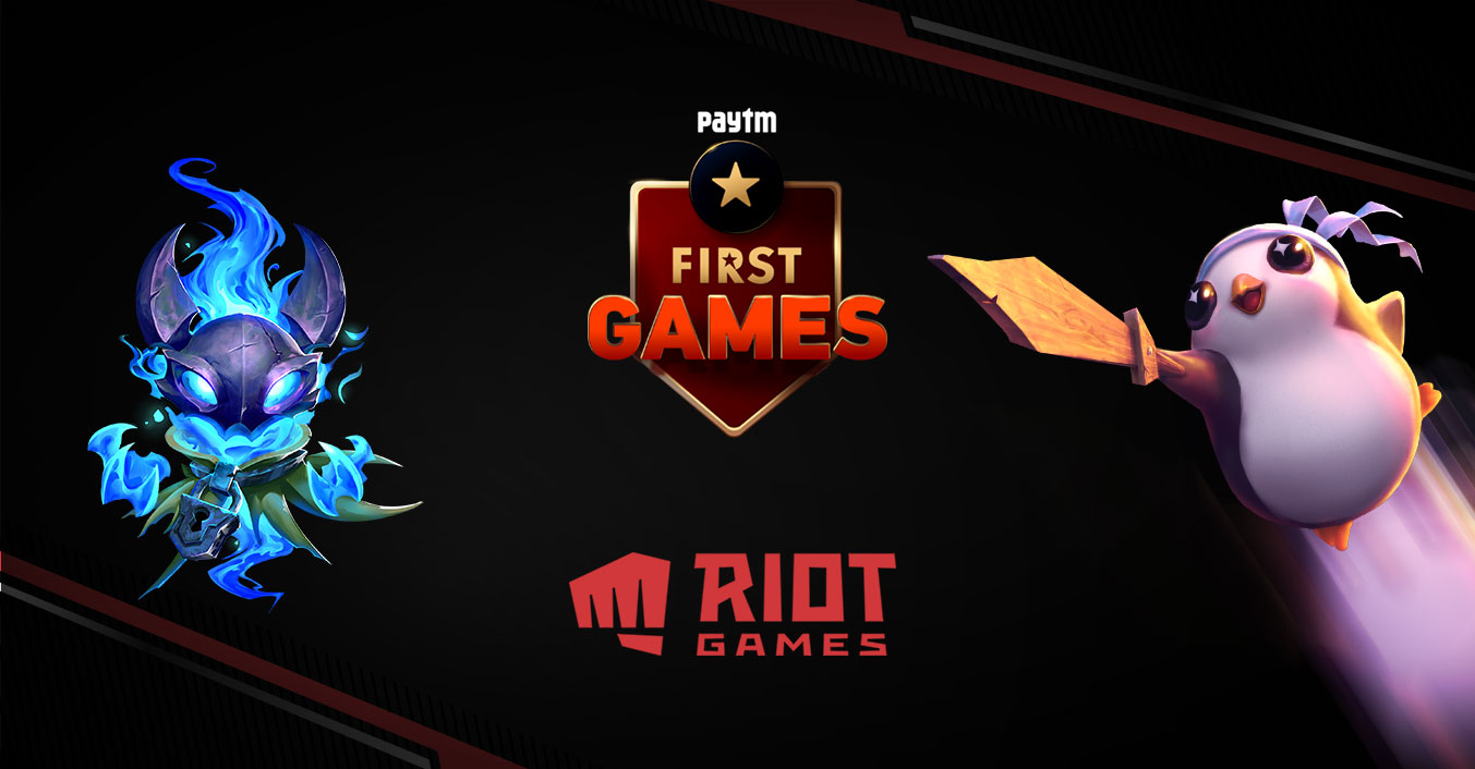 Paytm First Games Riot Games