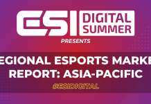 ESI Digital Summer presents: Regional Esports Market Report: Asia-Pacific