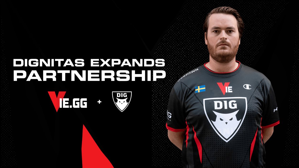 Dignitas VIE.gg Expansion - VIE.gg acquires naming rights in expanded Dignitas deal