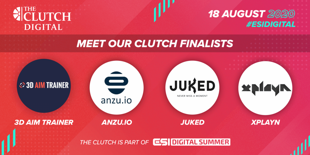 ESIDSummer Clutch Finalists 1024x512px 1024x512 - TEAMS co-founder James Duffield offers pitching advice from The Clutch
