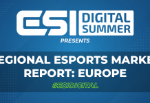 ESI Digital Summer presents: Regional Esports Market Report - Europe