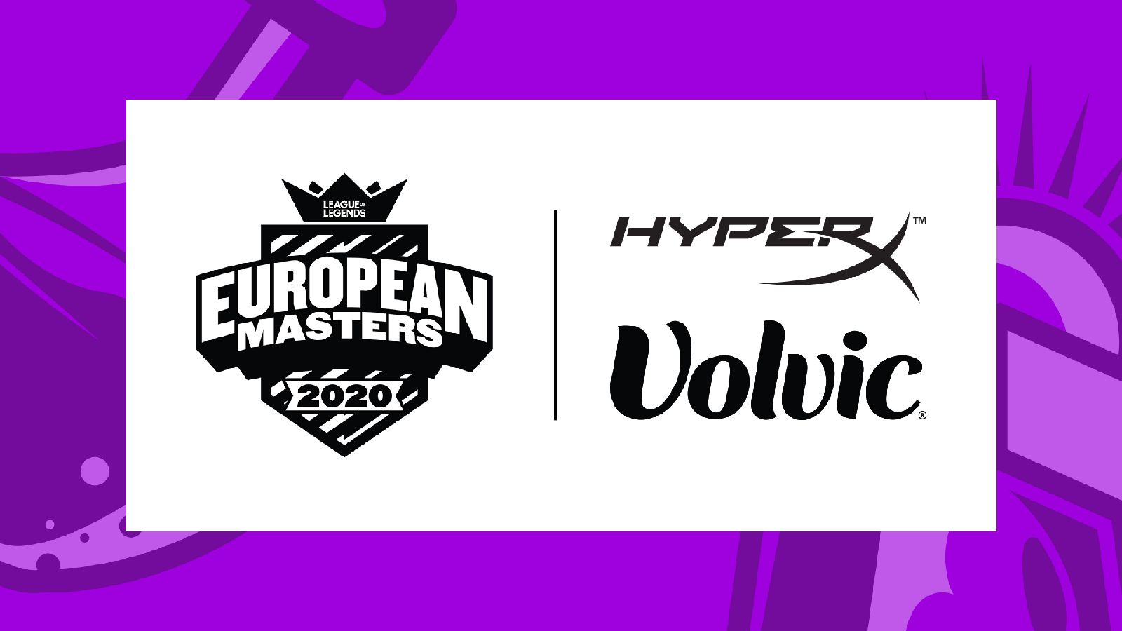 European Masters finds summertime partners in HyperX and Volvic Germany