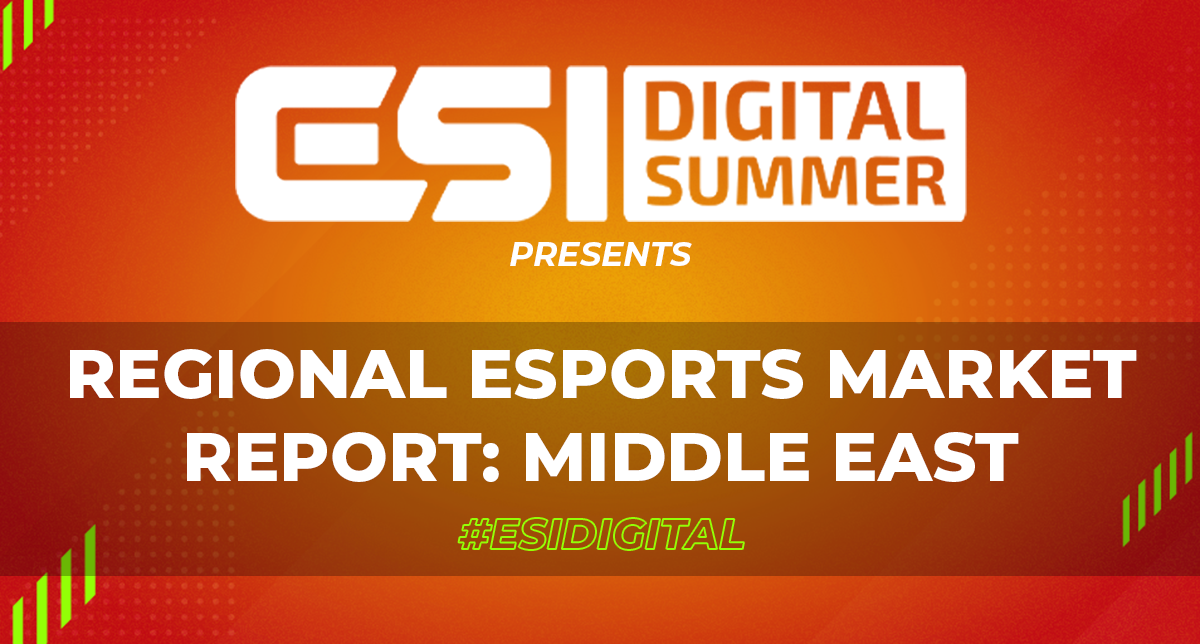 ESI Digital Summer Regional Esports Market Report: Middle East