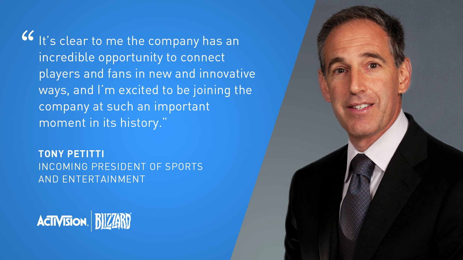 activision tony - Esports movers and shakers in August 2020