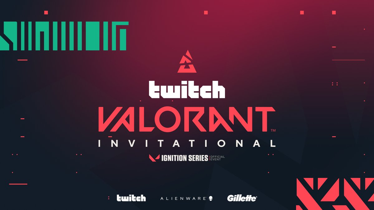 BLAST VALORANT Twitch Invitational Alienware Gillette - BLAST receives support from Alienware, Gillette for Ignition Series event