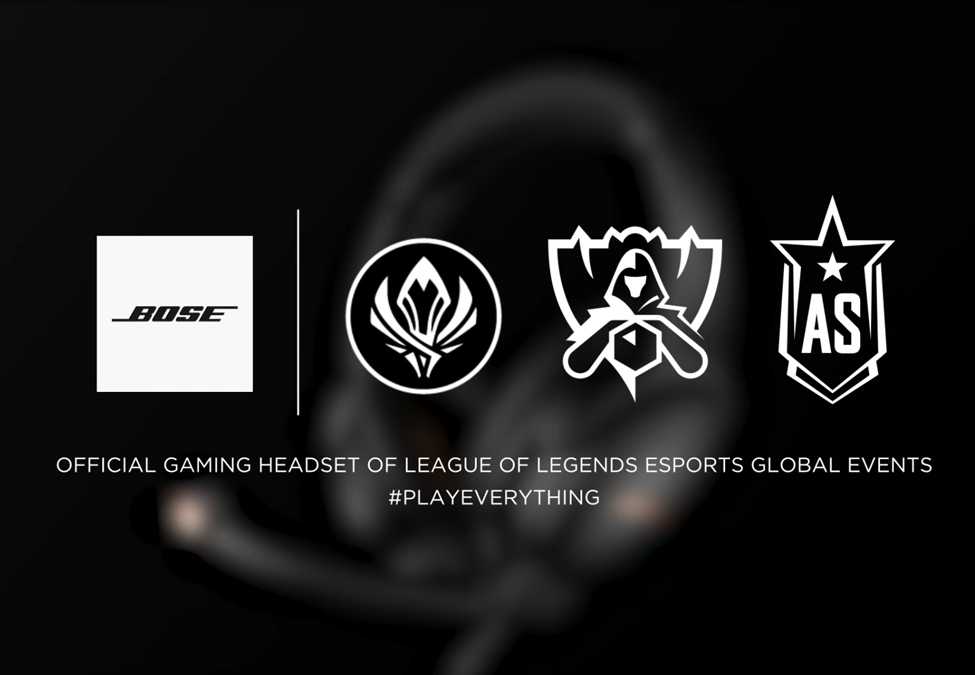 Bose League of Legends Esports - Bose becomes headset partner of League of Legends esports