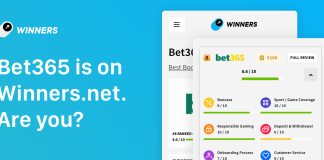 Winners.net x Bet365