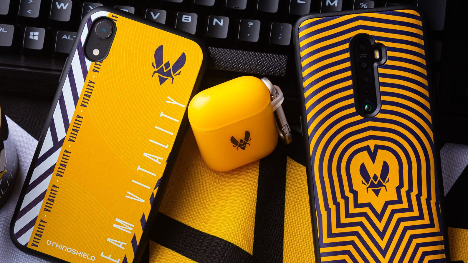 RhinoShield to produce Team Vitality phone and gadget cases