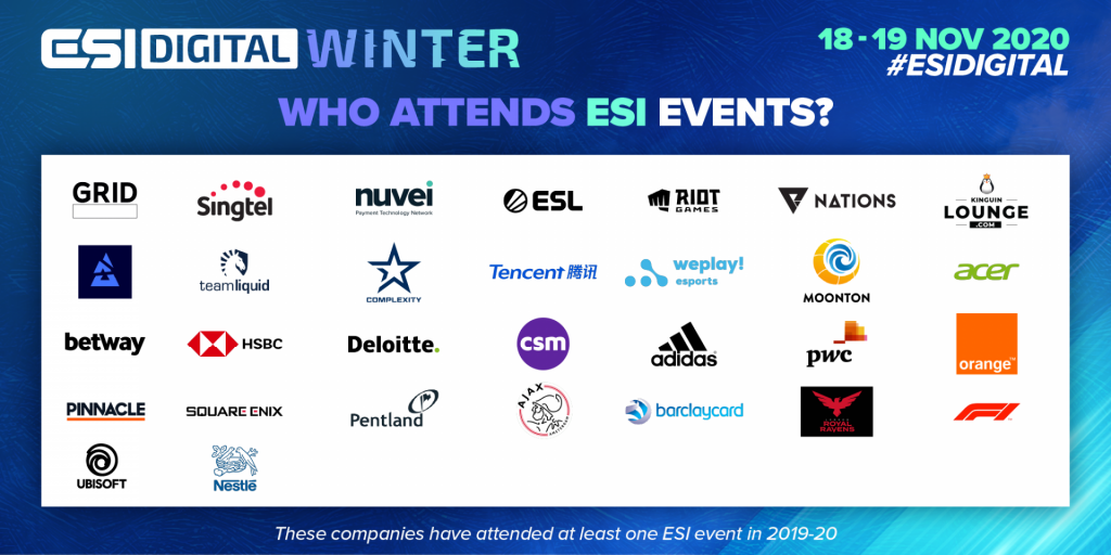 ESIDWinter Who Attends 1024x512px 1024x512 - ESI catches up with esports startups competition The Clutch winners