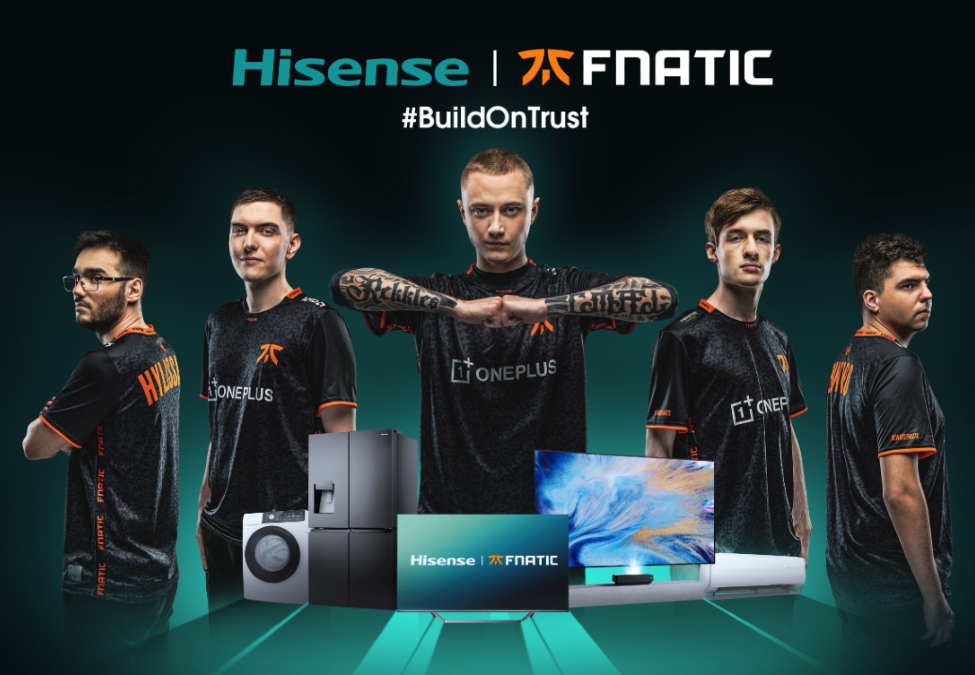 Fnaitc Hisense partnership 2020 - Fnatic enters multi-year partnership with Hisense