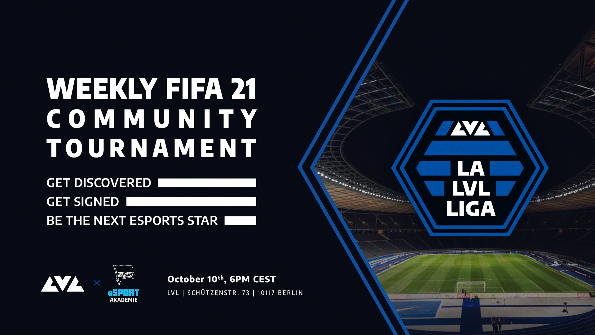 Hertha BSC LVL partnership - LVL joins forces with Hertha BSC to launch FIFA tournament