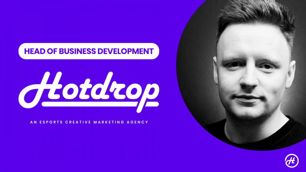 head of business development announcement hotdrop e1603620531216 - Esports movers and shakers in October 2020