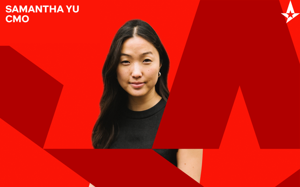 6000172011f6709d8b060a91 16 10 1024x640 - Astralis Group hires Samantha Yu as Chief Marketing Officer