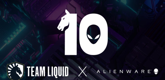 Team Liquid Alienware 10 year partnership Liquid+