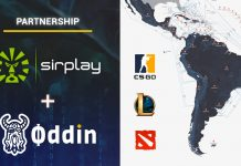 Oddin Sirplay esports betting