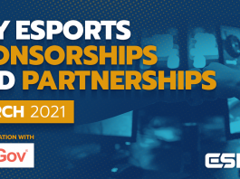 Esports sponsorships & partnerships
