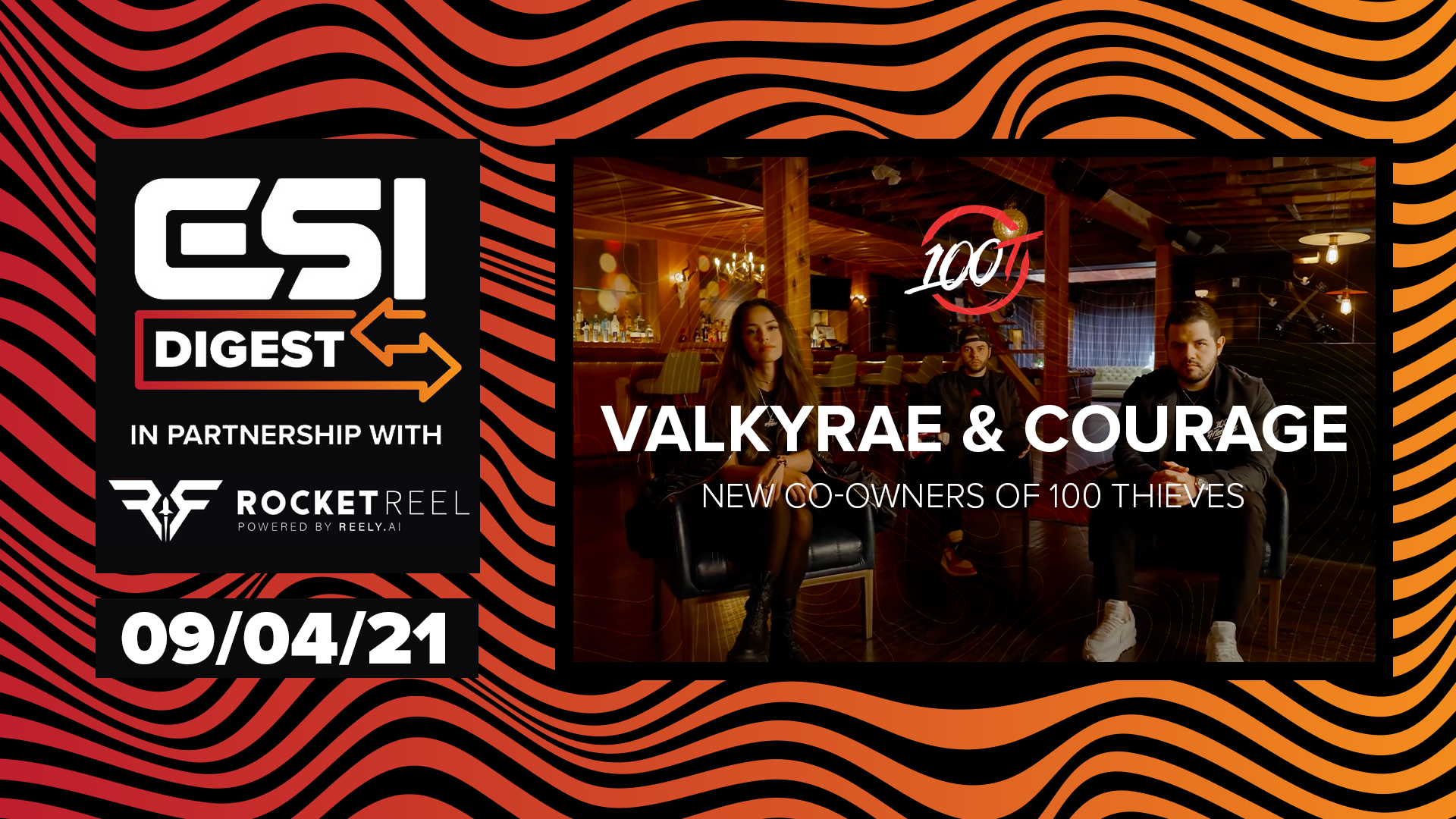 CouRage and Valkyrae become 100 Thieves co-owners, BMW announces esports manga | ESI Digest #37