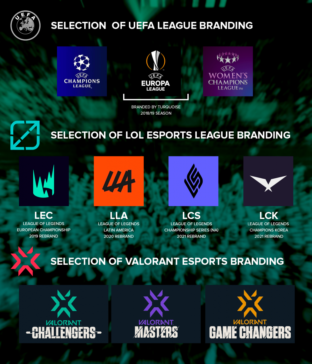 Turquoise: Selections of League Branding