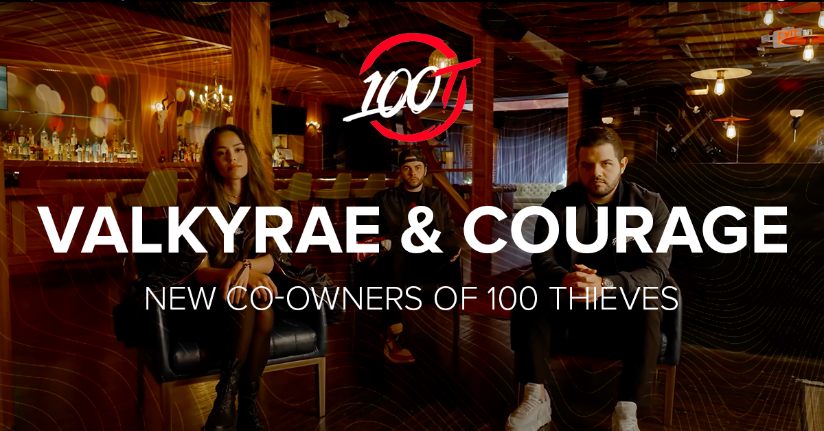 Valkyrae and CouRage made co-owners of 100 Thieves