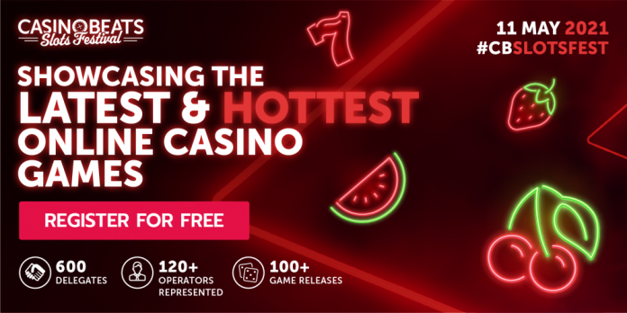 CasinoBeats Slots Festival to showcase hottest new games releases of spring 2021