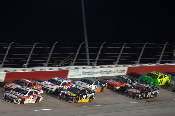 NASCAR restart brings in 6.3m U.S.  viewers