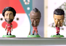 Liverpool Football Club bobblehead figure Christmas merchandise