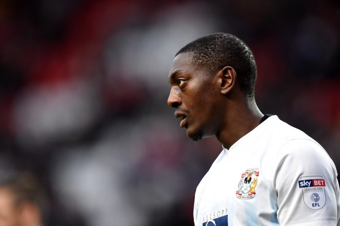 Marvin Sordell in action for Coventry City