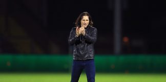 Wycombe boss Gareth Ainsworth claps supporters