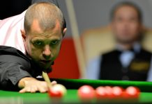 Barry Hawkins takes a shot at the 6-Red World Championship